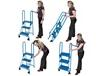 LOCK-N-STOCK FOLDING LADDER
