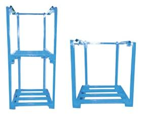 ONE PIECE PORTABLE STACKING RACKS